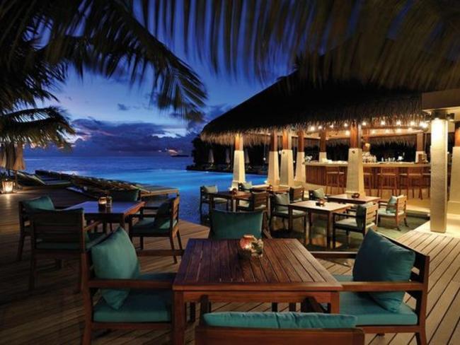 Ayada Maldives - bar Zero Degreee