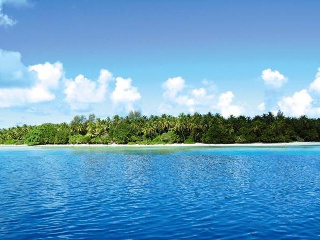 Biyadhoo island resort - pohled z moře
