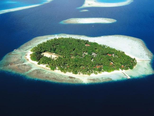 Biyadhoo island resort - letecký pohled