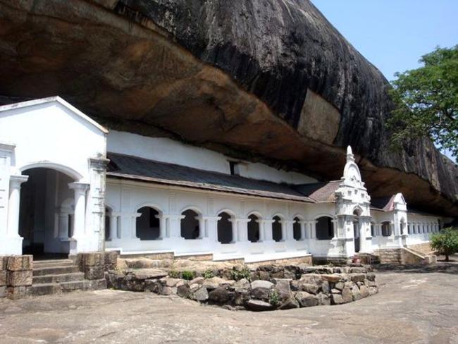 chrám Dambulla Srí Lanka