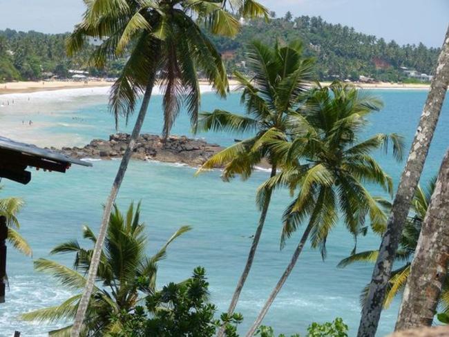 pláž Srí Lanka