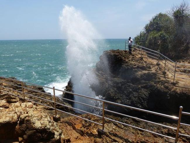 gejzír Srí Lanka