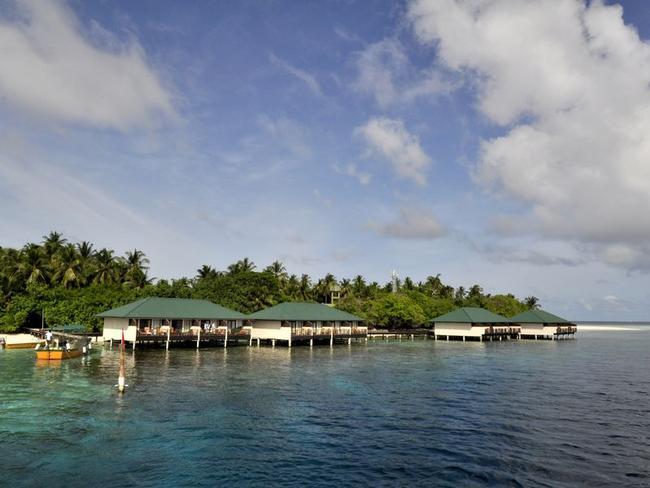 Embudu Village - vodní bungalovy