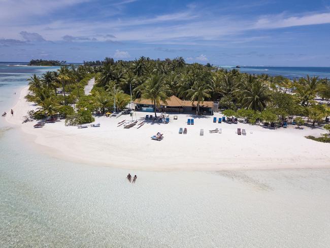 Fun island resort, pláž
