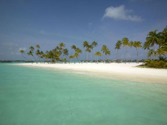 Gili Lankafushi - pláž