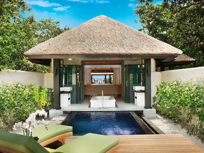 JA Manafaru - plážový bungalov