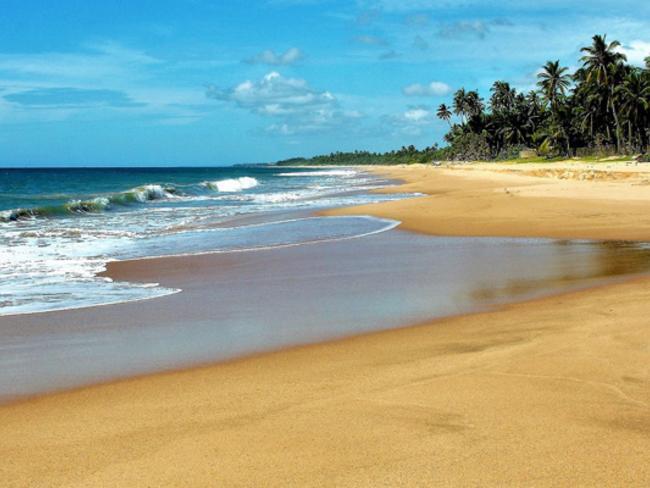 Pláže jižní Srí Lanky