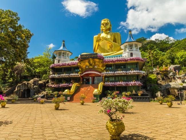 Zlatý chrám v Dambulle