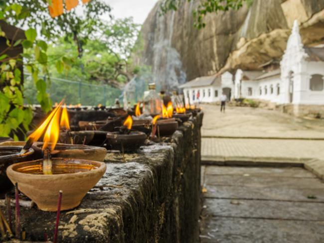 Skalní chrám v Dambulle