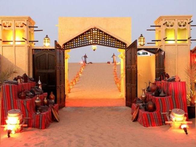 Dubaj - Pouštní safari