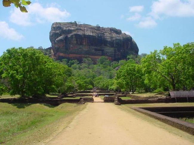 Srí Lanka - Lví hora Sigiriya