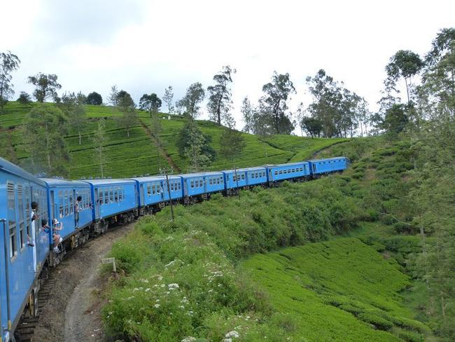 vlakem přes vysočinu, Srí Lanka