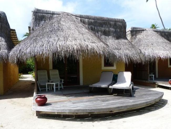 Kuredu Island Resort & Spa - zahradní bungalov