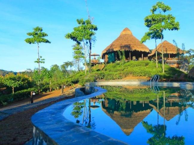 hotel v čajových plantážích