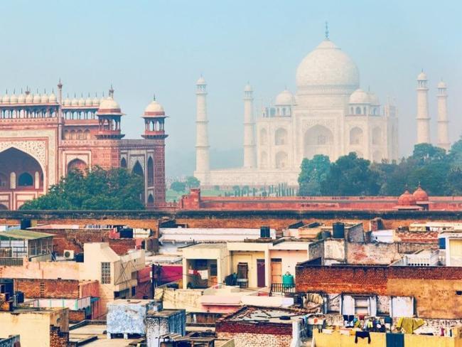 Agra a Taj Mahal