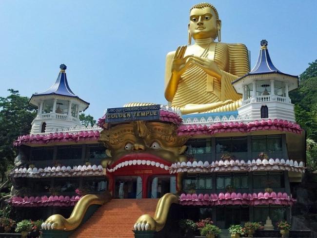 Srí Lanka - zlatý chrám