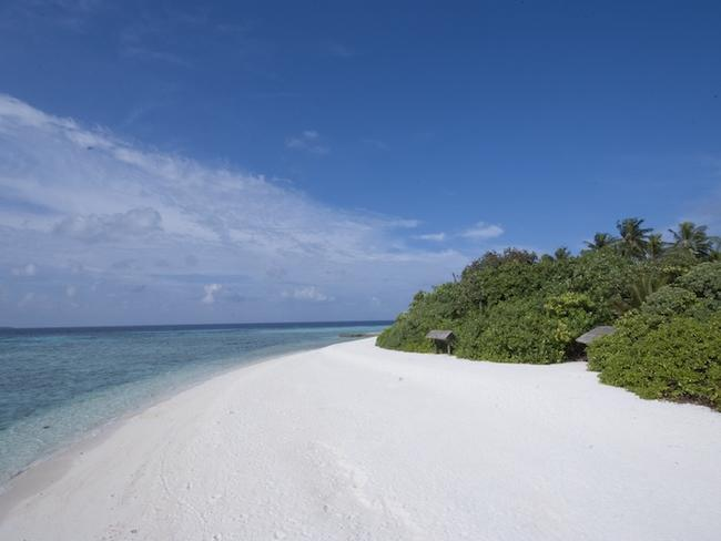 Makunudu island resort - pláž