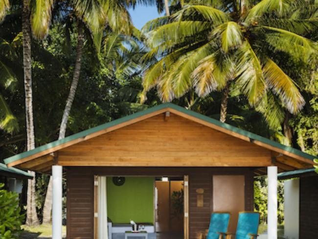 Meeru island resort - plážová vila