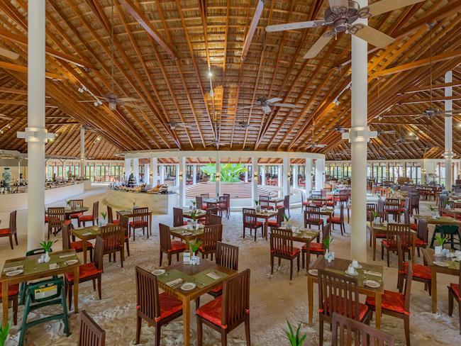 Meeru island resort - restaurace Farivalhu