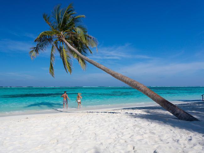 Meeru island resort - pláž