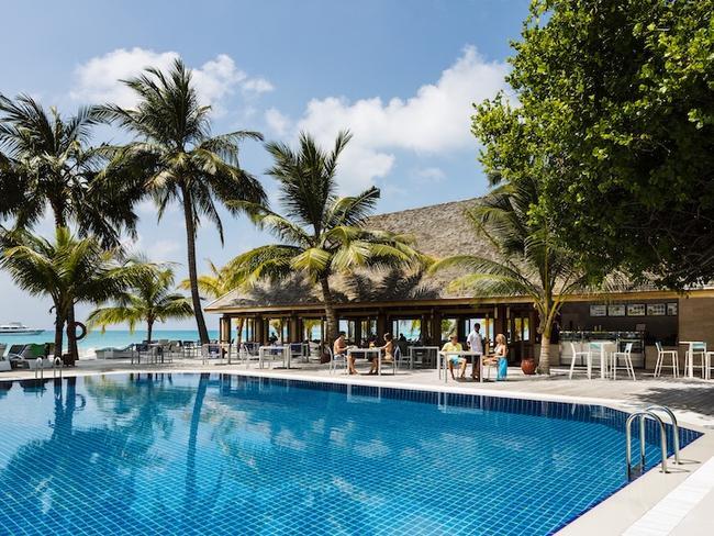Meeru island resort - bazén