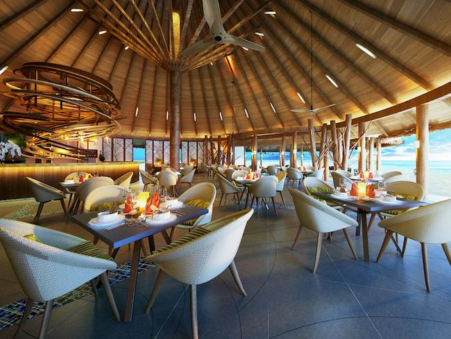 Ozen by Atmosphere at Madhoo - restaurace Palm bay