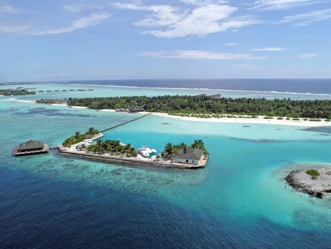 Paradise island resort - letecký pohled
