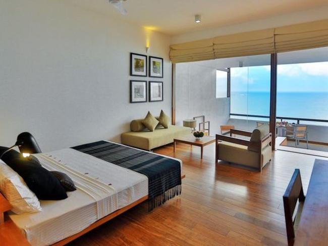 Pandanus Beach resort - pokoj deluxe