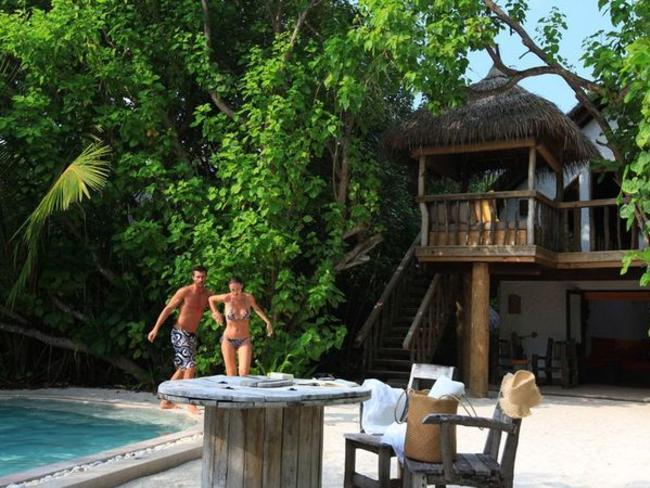 Soneva Fushi By Six Senses - Crusoe vila s bazénem
