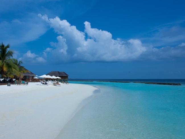 Vakarufalhi Maldives - pláž