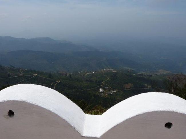 vyhlídka Srí Lanka