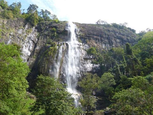 vodopád Diyaluma, Srí Lanka