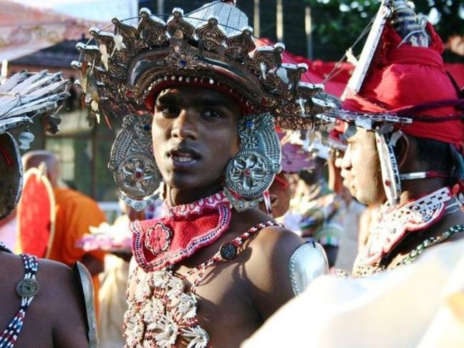 tanečník Kandy Srí Lanka