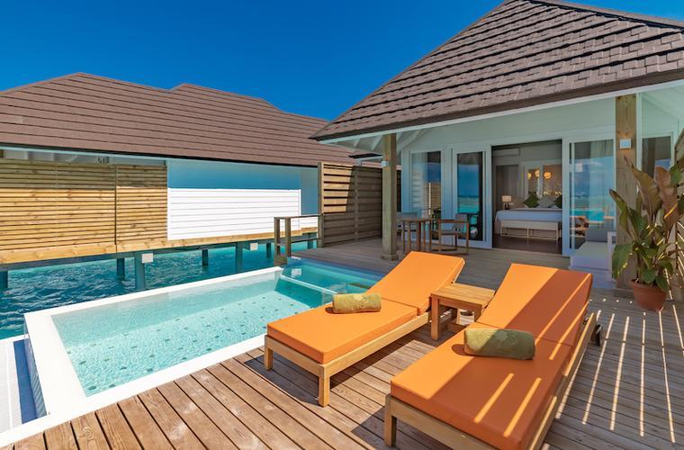 Olhuveli beach resort - zájezd Maledivy