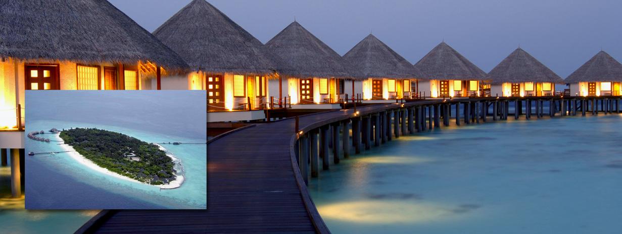 Adaaran Select Meedhupparu - zájezdy Maledivy