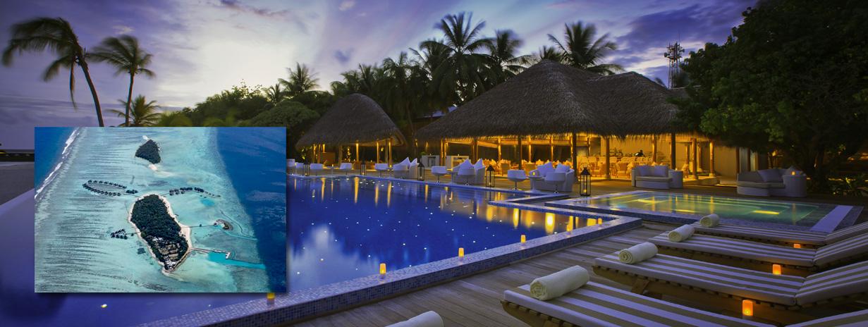 Hideaway beach resort Maledivy - dovolená Maledivy