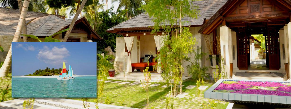 Holiday Island resort - zájezd na Maledivy