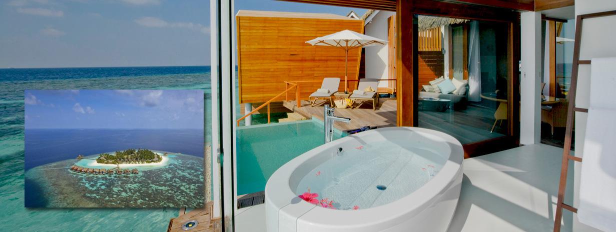 Kandolhu island - zájezdy Maledivy