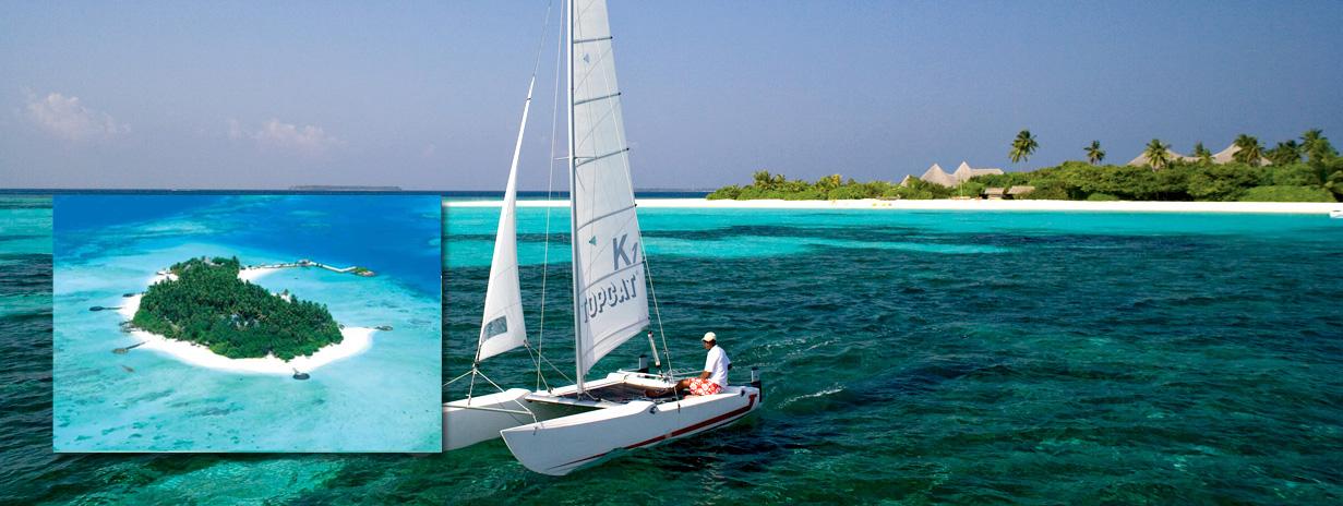 Makunudu Island resort - dovolená Maledivy