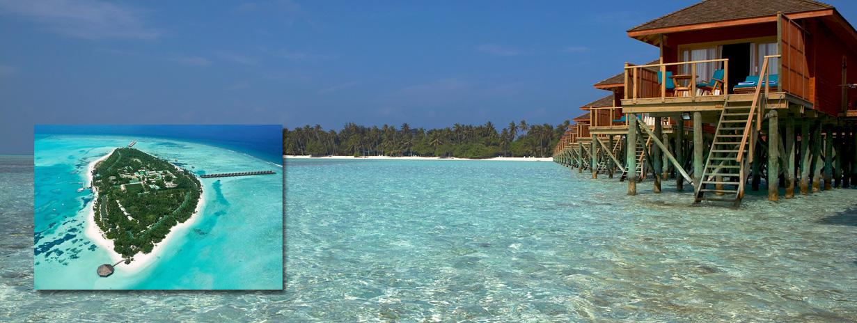 Meeru island resort - dovolená Maledivy