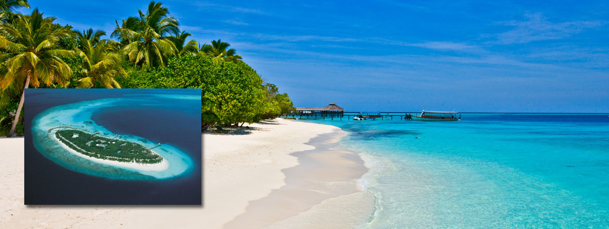 Reethi Beach resort - zájezdy Maledivy