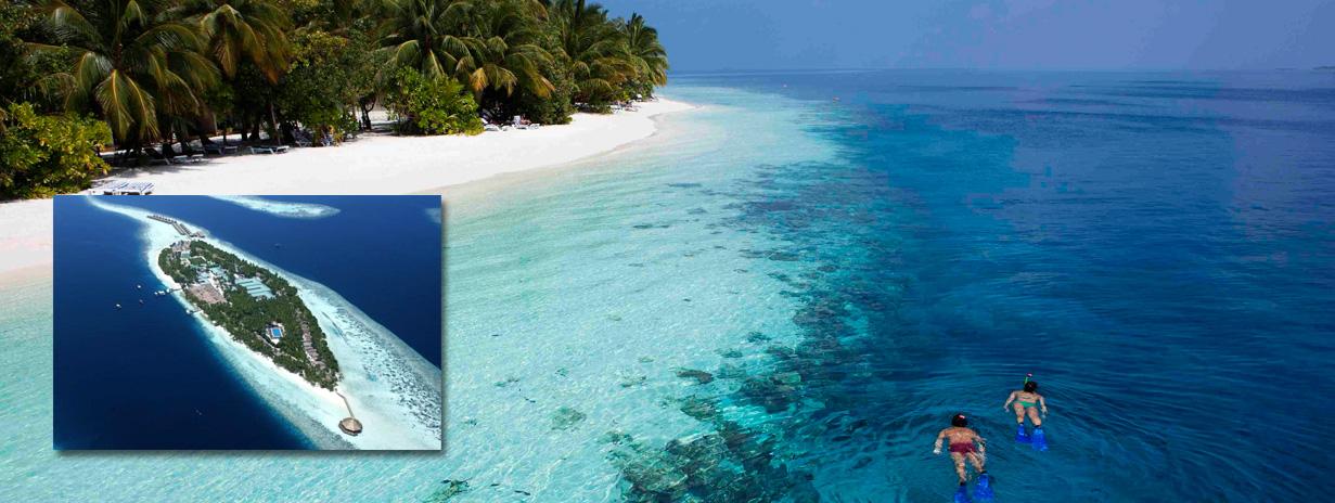 Vilamendhoo Island resort - zájezd na Maledivy